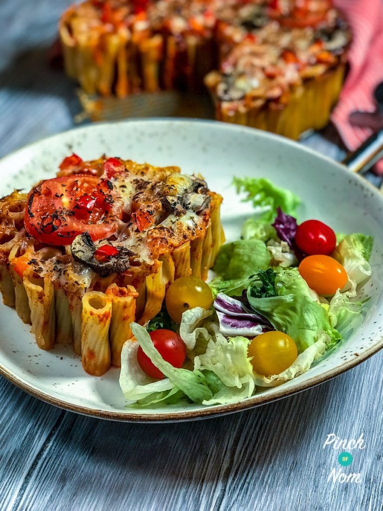 Syn Free Rigatoni Pizza Pie | Slimming World