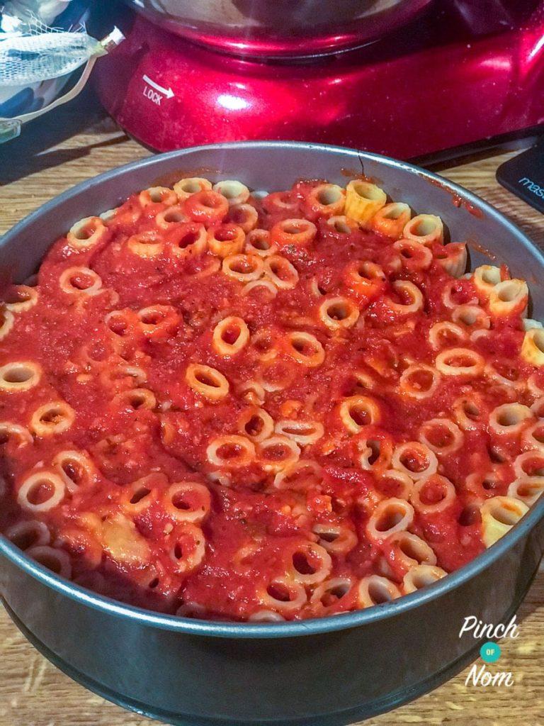 Rigatoni Pizza Pie | Slimming & Weight Watchers Friendly