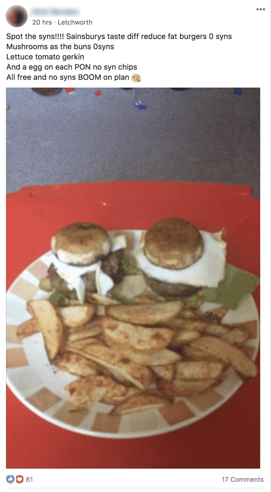 Top Pick Sainsburys Burgers FBSS