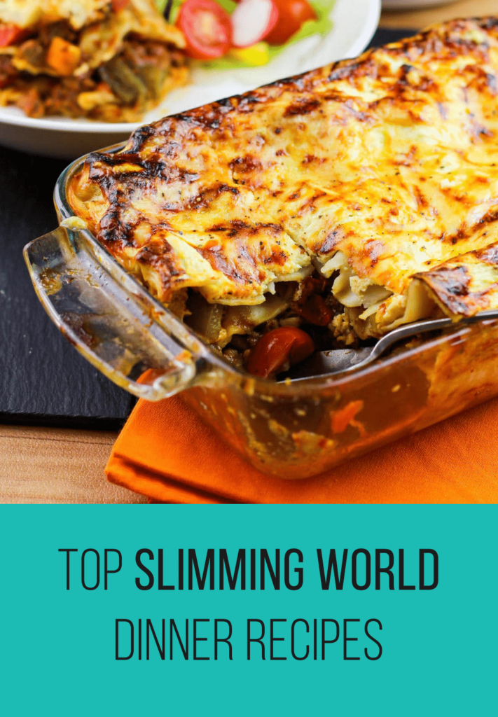 Top Slimming World Dinner Recipes | Slimming World - Pinch ...