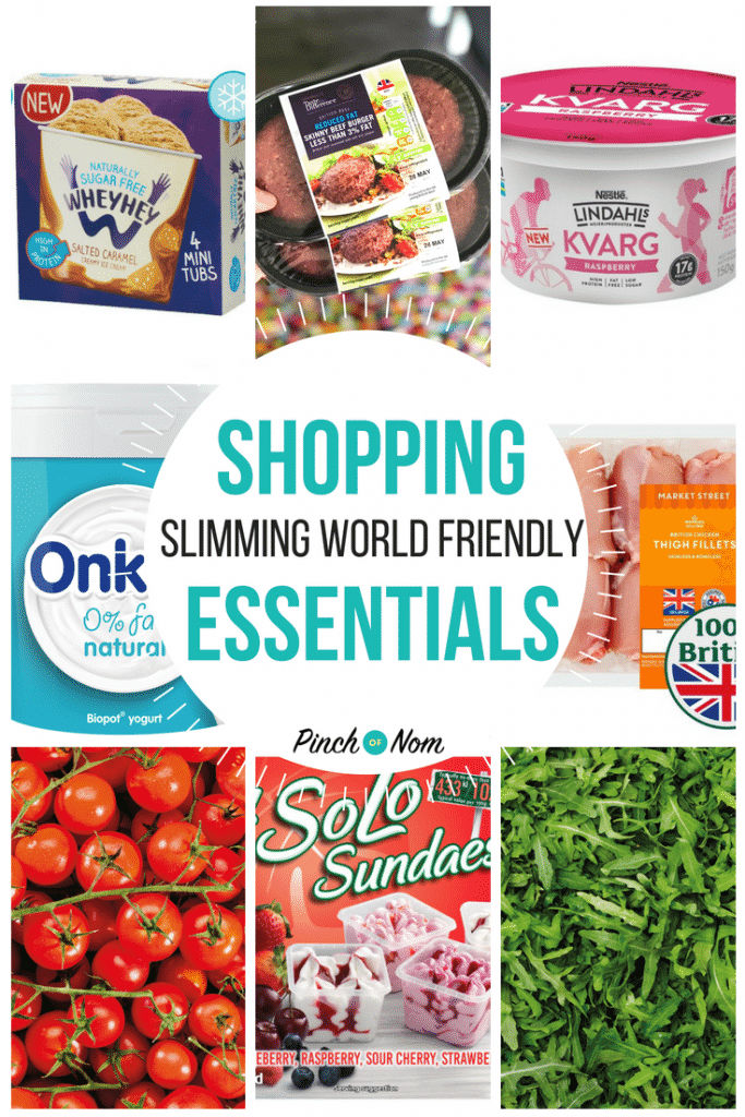 New Slimming World Shopping Essentials 25/5/18
