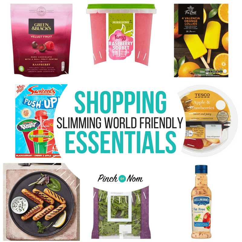 New Slimming World Shopping Essentials 11/5/18