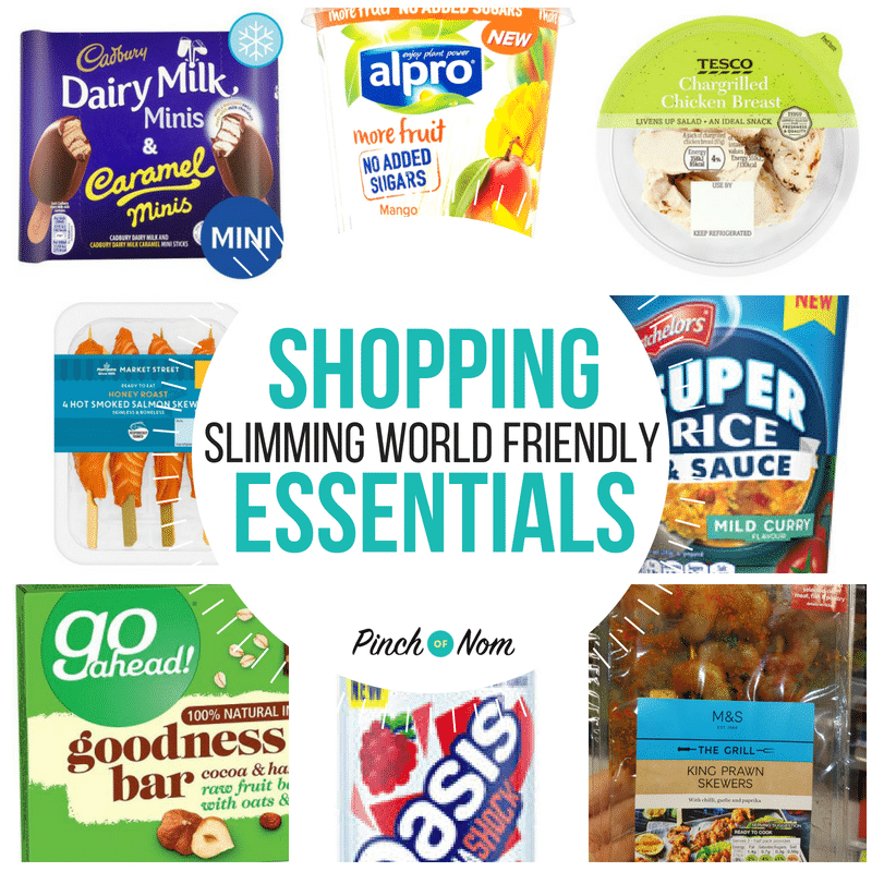 New Slimming World Shopping Essentials 18/5/18
