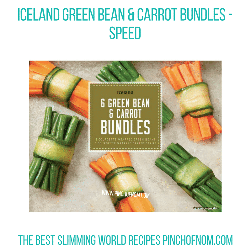 Iceland veg bundles - Pinch of Nom Slimming World Shopping Essentials