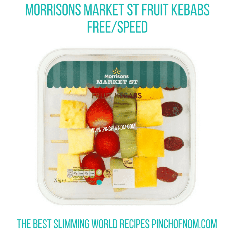 Morrisons fruit kebabs - Pinch of Nom Slimming World Shopping Essentials