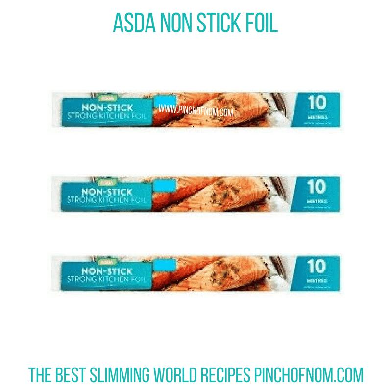 Asda Non Stick Foil - Pinch of Nom Slimming World Shopping Essentials