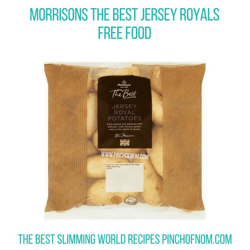 Morrisons The Best Jersey Royals - Pinch of Nom Slimming World Shopping Essentials