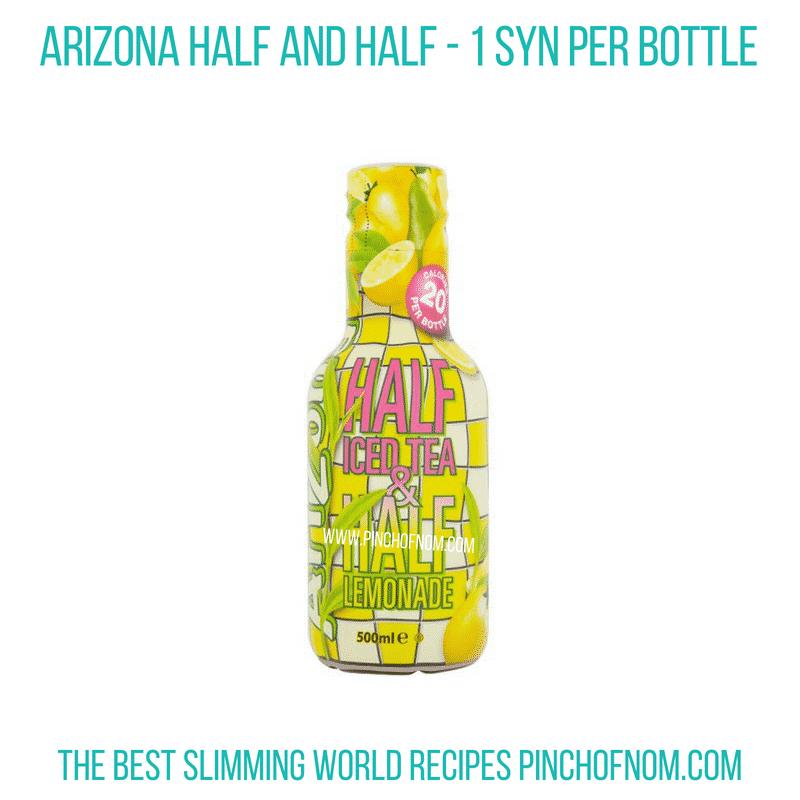 Arizona Half & Half - Pinch of Nom Slimming World Shopping Essentials