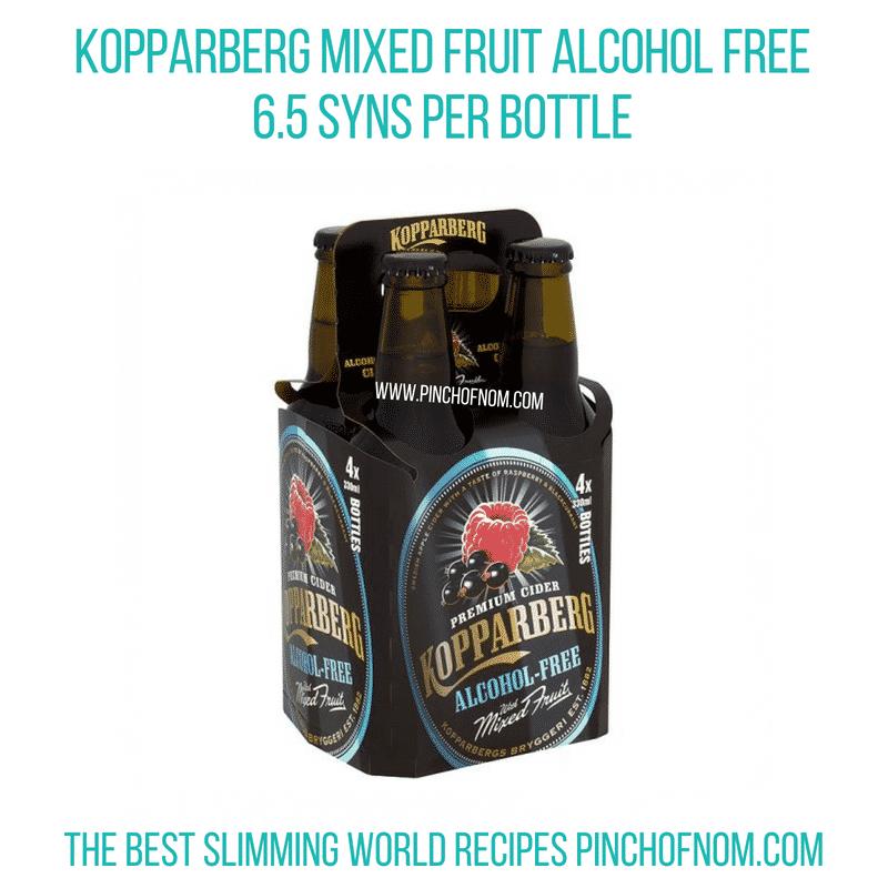 Kopparberg 330ml bottles - Pinch of Nom Slimming World Shopping Essentials