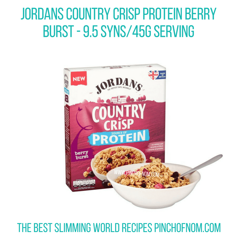 Jordans Country Crisp Berry Burst - Pinch of Nom Slimming World Shopping Essentials