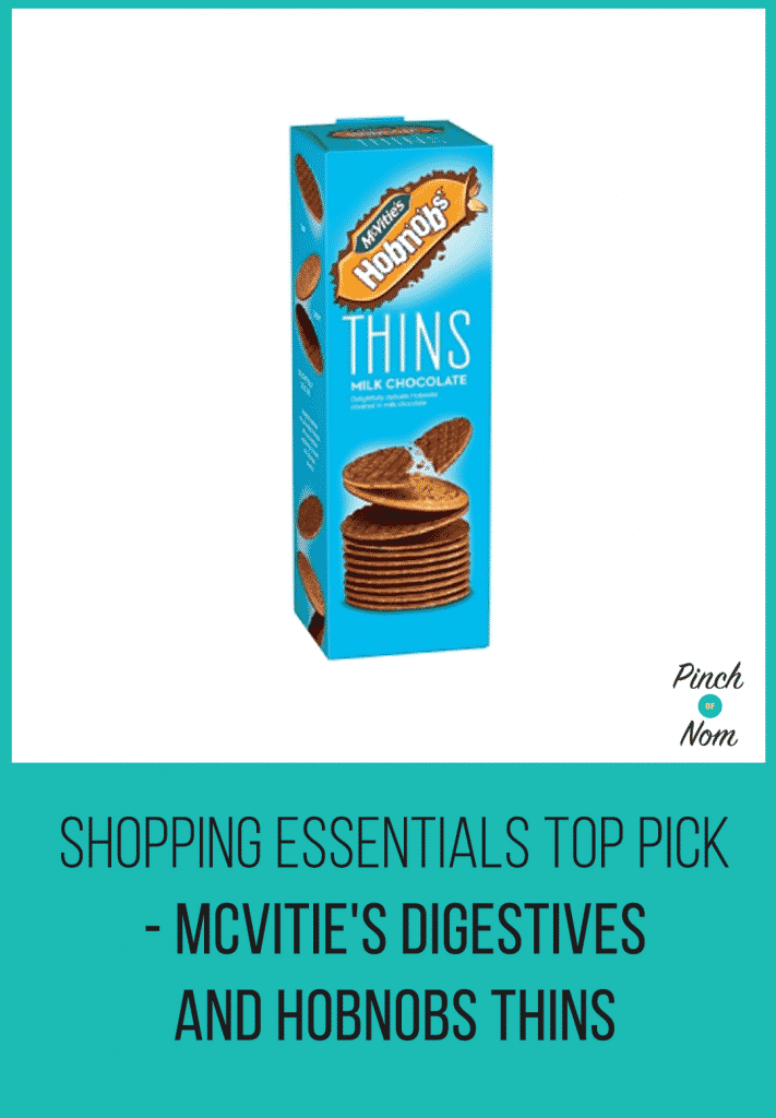 Shopping Essentials Top Pick – McVitie's Digestives And Hobnobs Thins | Slimming World