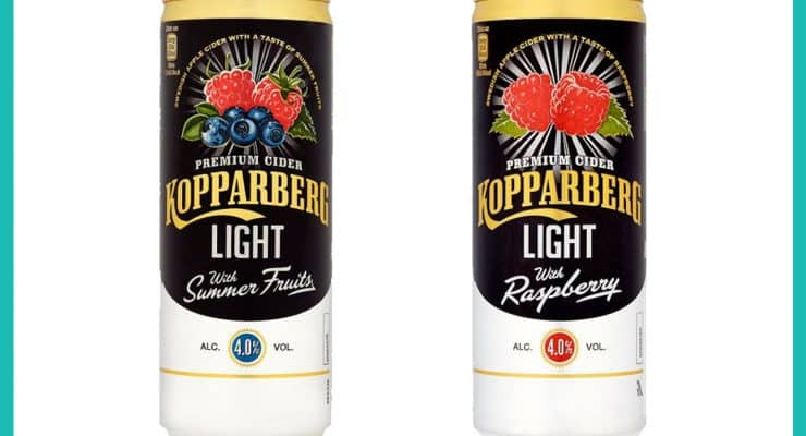 Shopping Essentials Top Pick – Kopparberg Light Cider | Slimming World