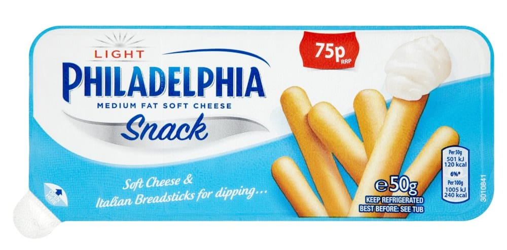 Shopping Essentials Top Pick – Philadelphia Light Snack Breadsticks | Slimming World