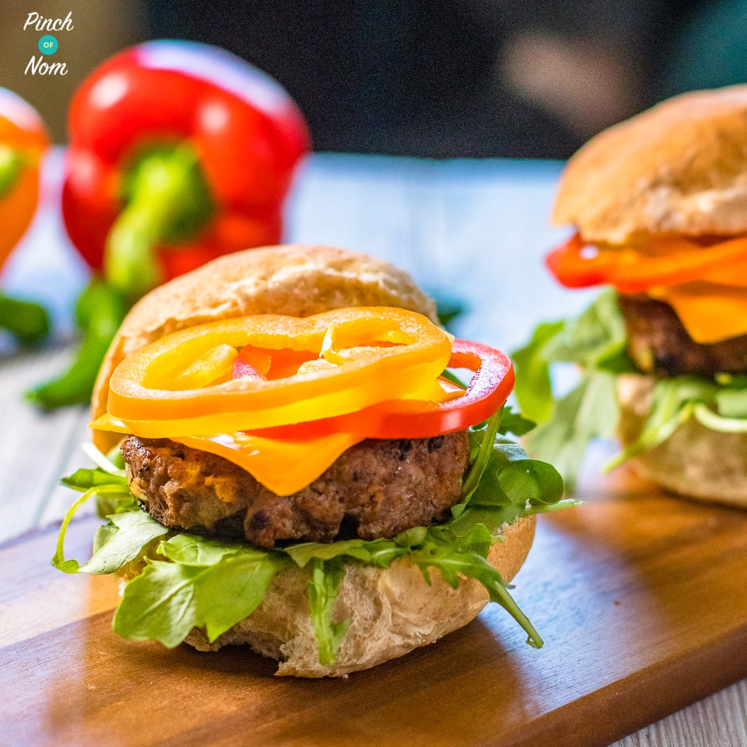 Syn Free Tex Mex Burgers   Slimming World-1
