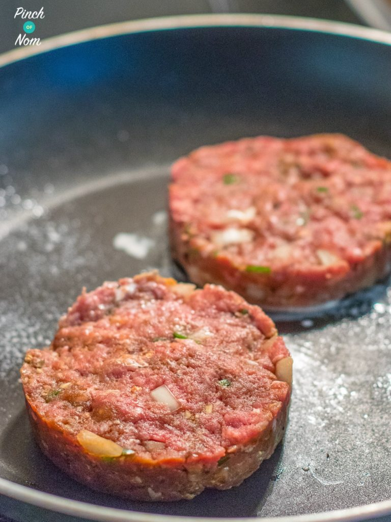 Tex Mex Burgers | Slimming & Weight Watchers Friendly