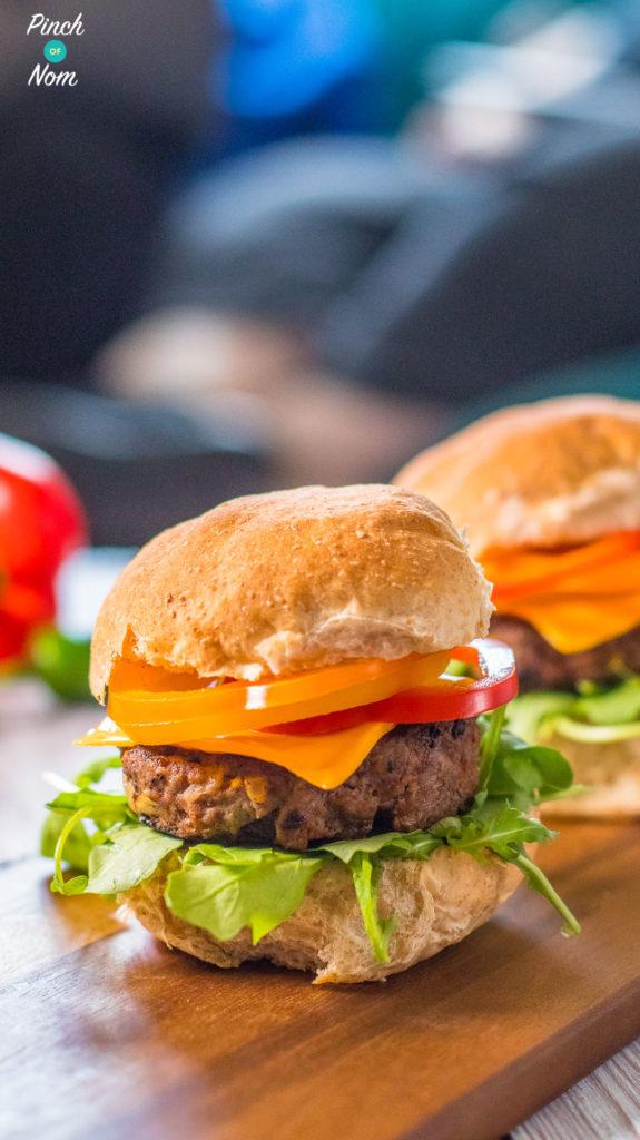 Tex Mex Burgers   Slimming & Weight Watchers Friendly