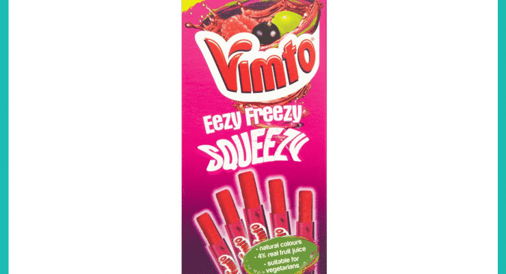 Shopping Essentials Top Pick – Vimto No Added Sugar Eezy Freezy Squeezy Freeze Pops | Slimming World