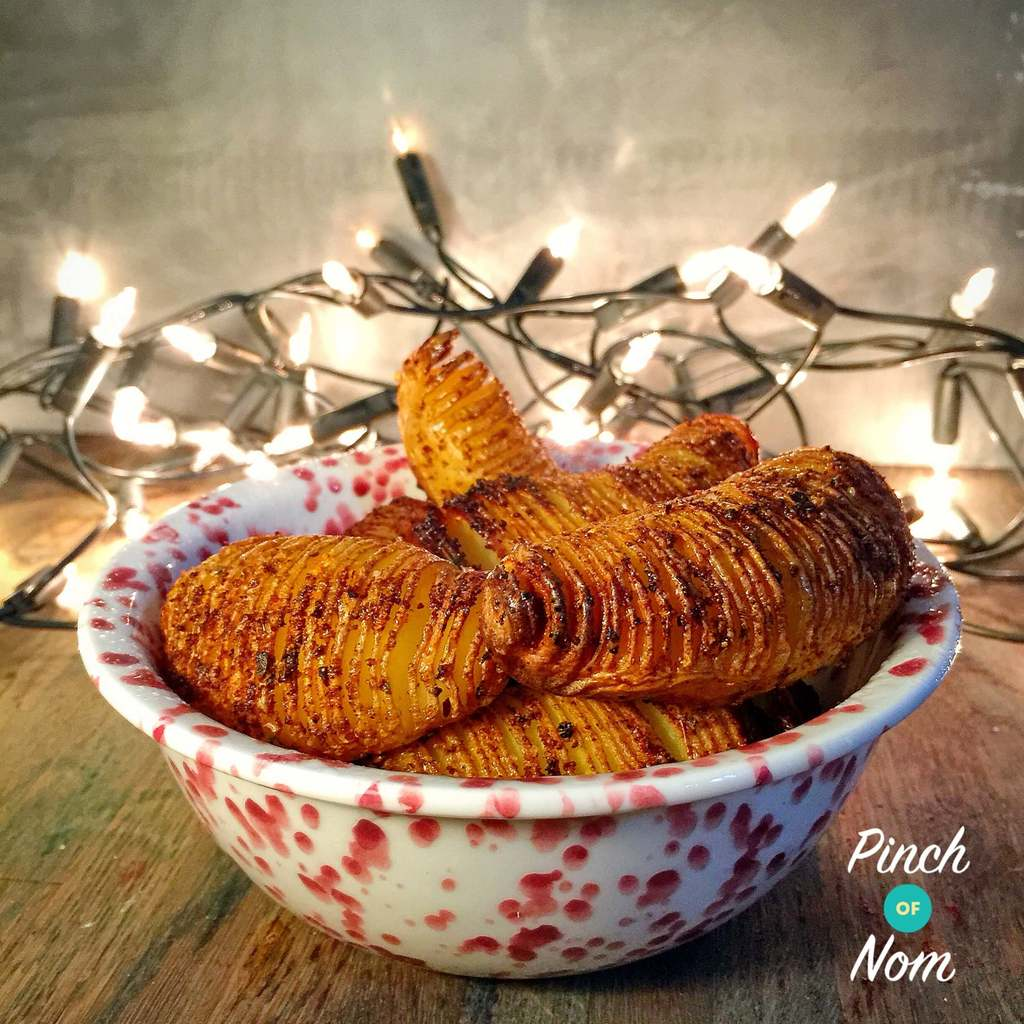 Syn Free Chipotle Hasselback Potatoes