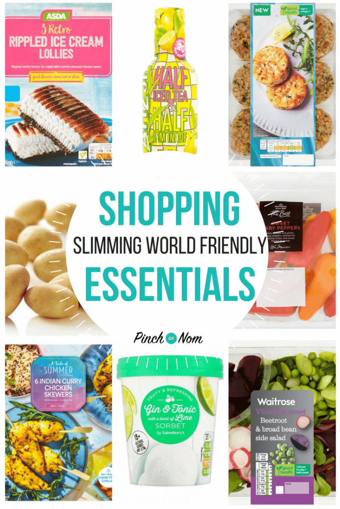 New Slimming World Shopping Essentials 22/6/18