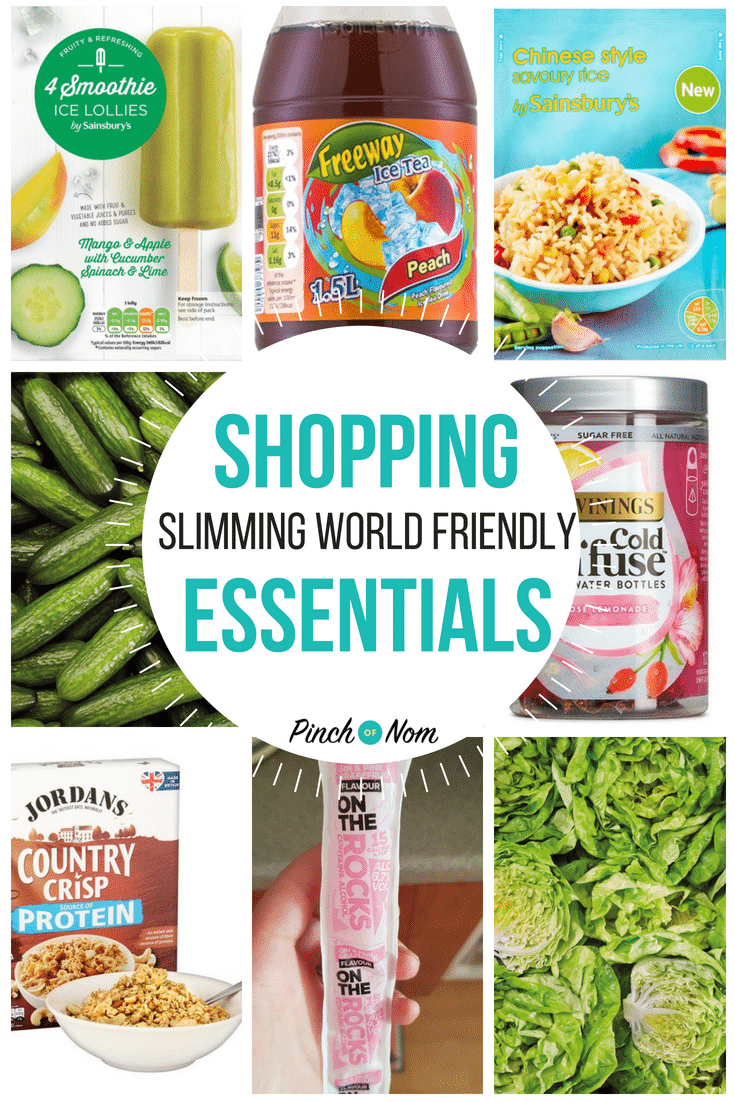 New Slimming World Shopping Essentials 29.6.18