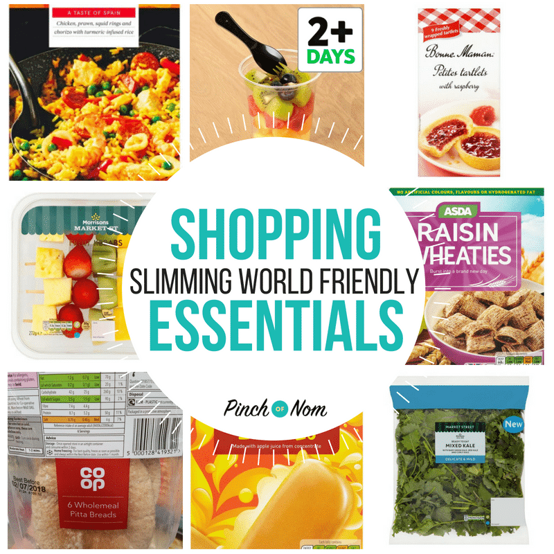 New Slimming World Shopping Essentials 15/6/18