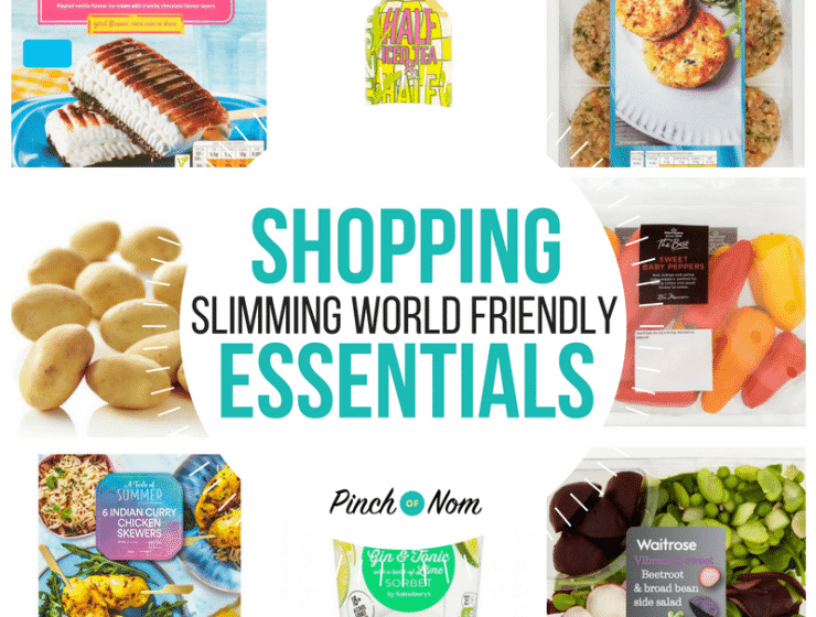New Slimming World Shopping Essentials 22/6/18