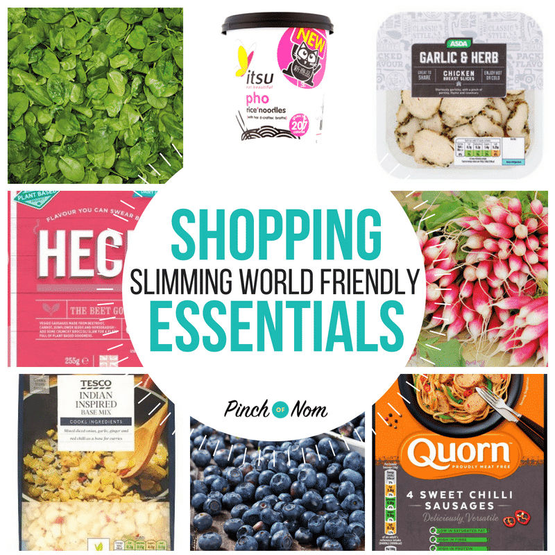 New Slimming World Shopping Essentials 8/6/18