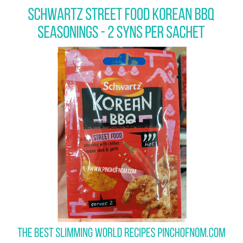 Korean BBQ Schwartz - Pinch of Nom Slimming World Shopping Essentials