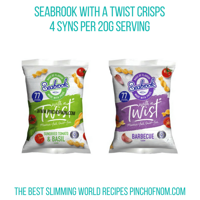Seabrook with a Twist - Pinch of Nom Slimming World Shopping Essentials