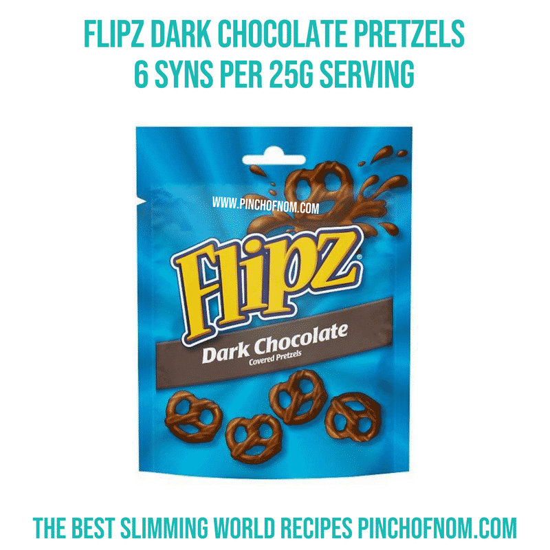 Flipz Pretzels - Pinch of Nom Slimming World Shopping Essentials