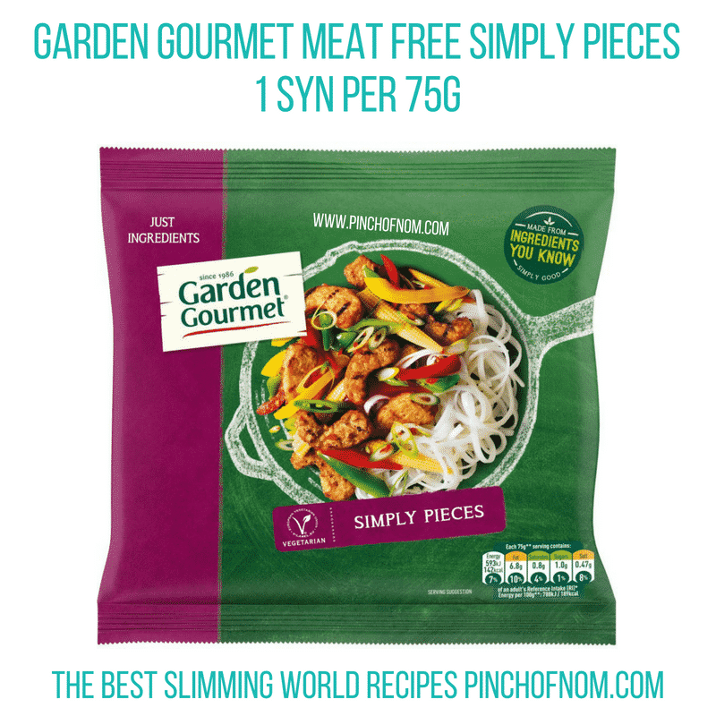 Garden Gourmet pieces - Pinch of Nom Slimming World Shopping Essentials