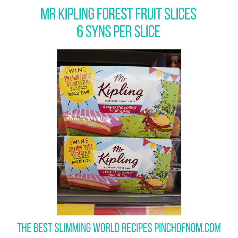 Mr Kipling Forest Fruit Slices - Pinch of Nom Slimming World Shopping Essentials