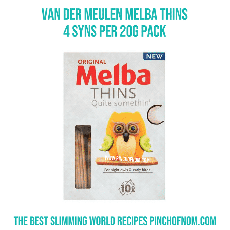 Melba Thins - Pinch of Nom Slimming World Shopping Essentials