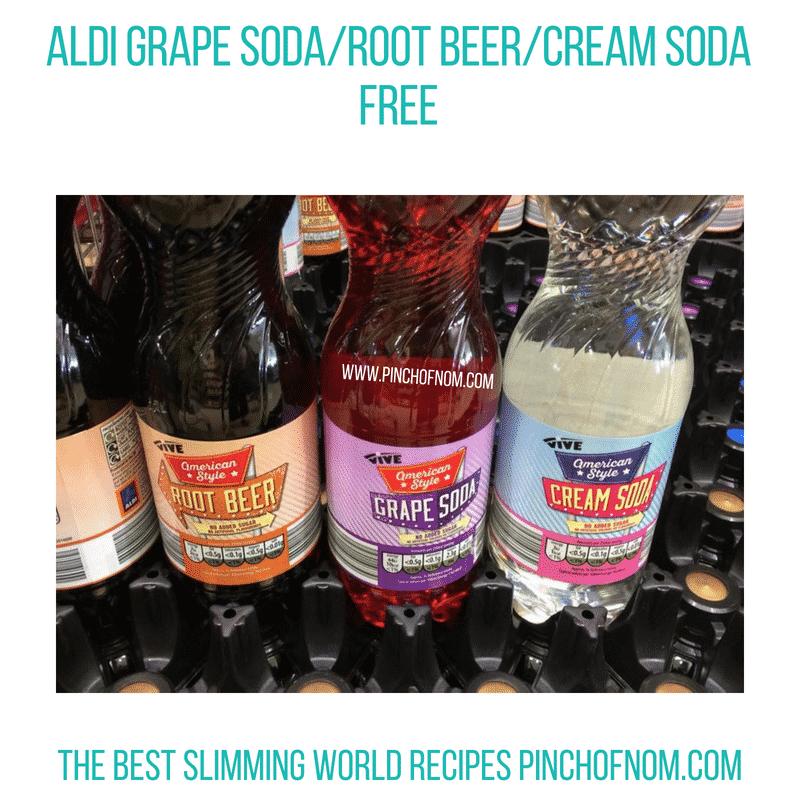 Aldi Grape Soda - Pinch of Nom Slimming World Shopping Essentials