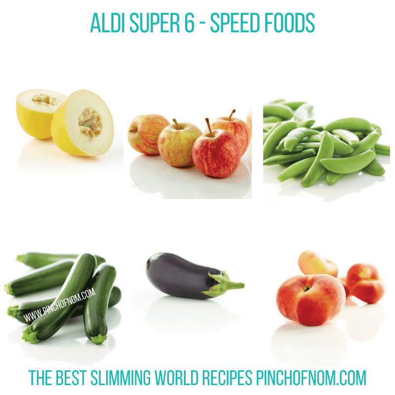 Aldi Super 6 - Pinch of Nom Slimming World Shopping Essentials