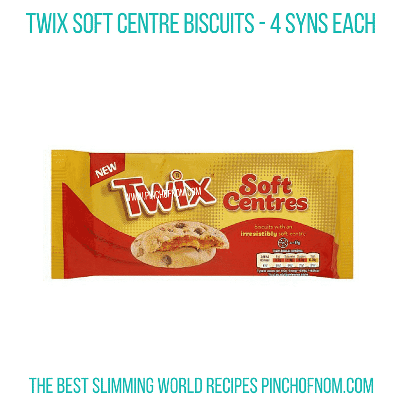 Twix Soft Centre - Pinch of Nom Slimming World Shopping Essentials