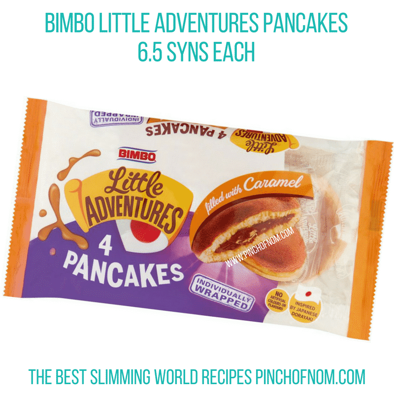 Bimbo pancakes - Pinch of Nom Slimming World Shopping Essentials