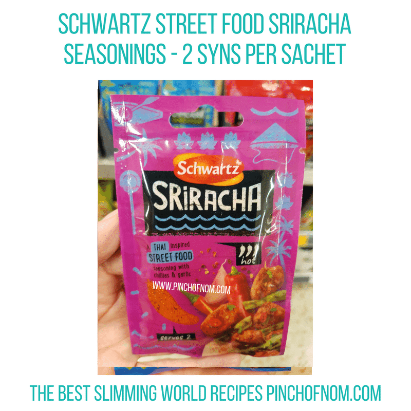 Schwartz Street Foods - Pinch of Nom Slimming World Shopping Essentials