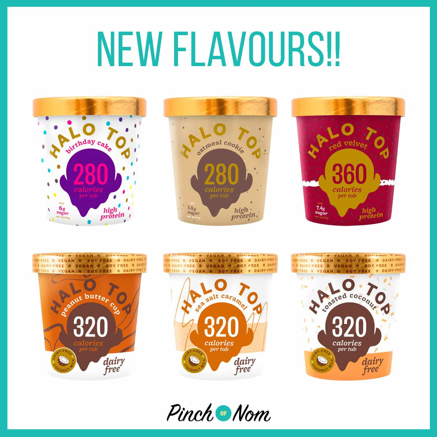 Halo Top Launching New Flavours And Non-Dairy Options | Slimming World