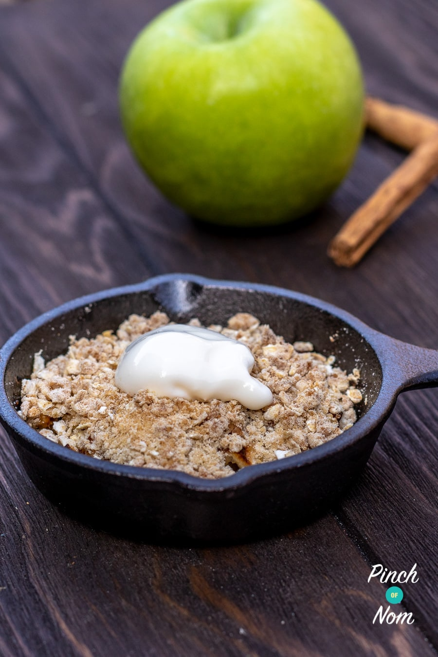 Low Syn Apple Crumble 3