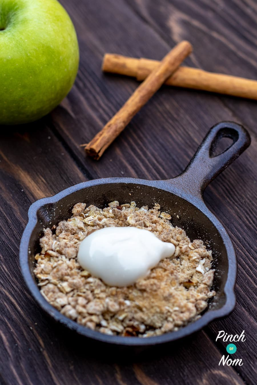 Low Syn Apple Crumble 1
