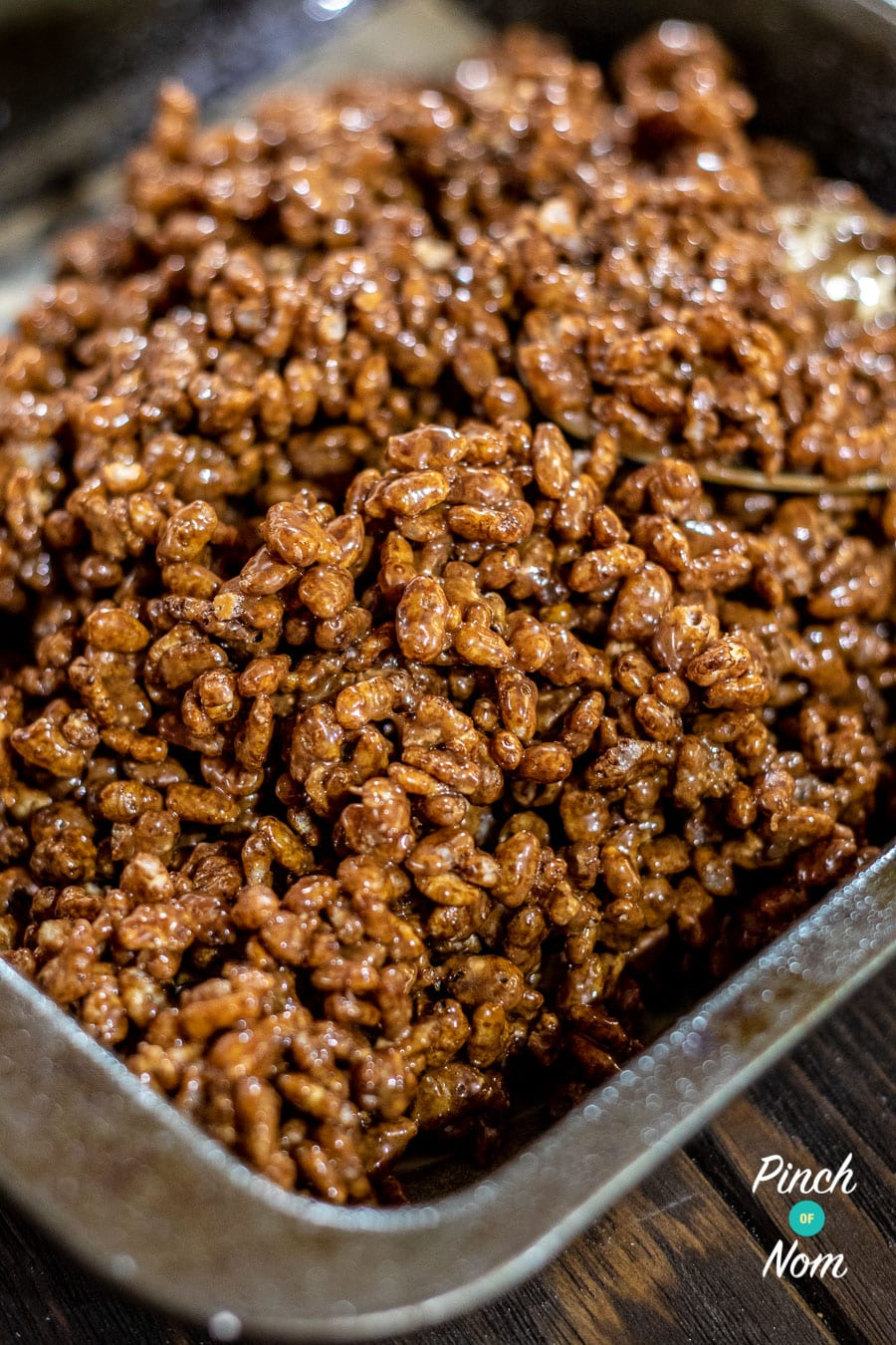 Low Syn Chocolate Crispy Bites- Step 4