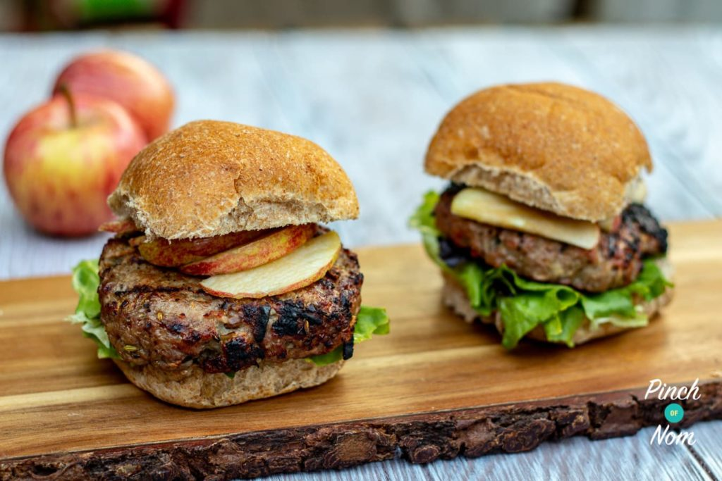 how to cook pork and apple burgers