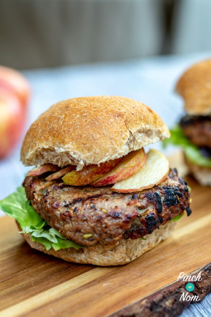 Pork and Apple Burgers | Slimming & Weight Watchers Friendly