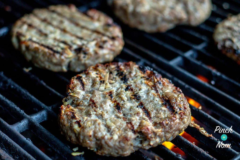 Pork and Apple Burgers | Slimming World & Weight Watchers Friendly