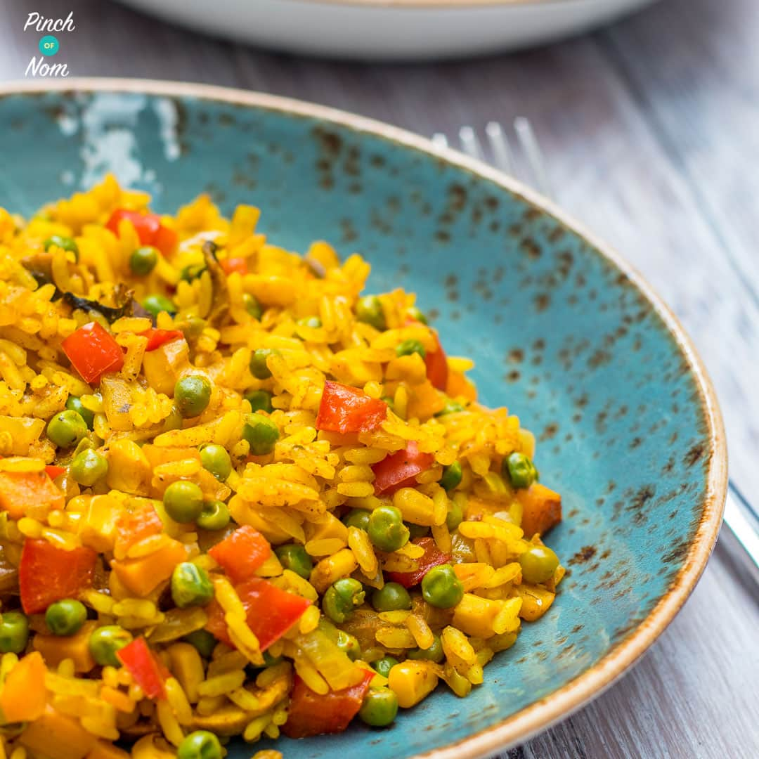 Savoury Rice | Slimming & Weight Watchers Friendly