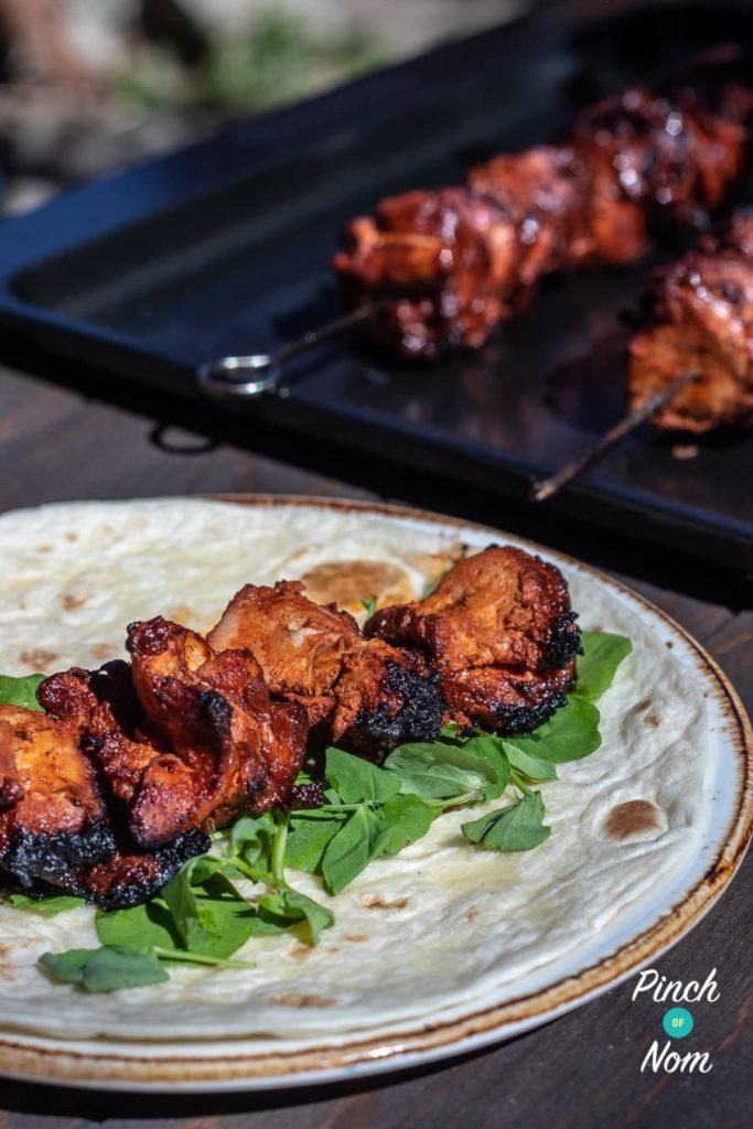 Chicken Tandoori Kebabs | Slimming & Weight Watchers Friendly