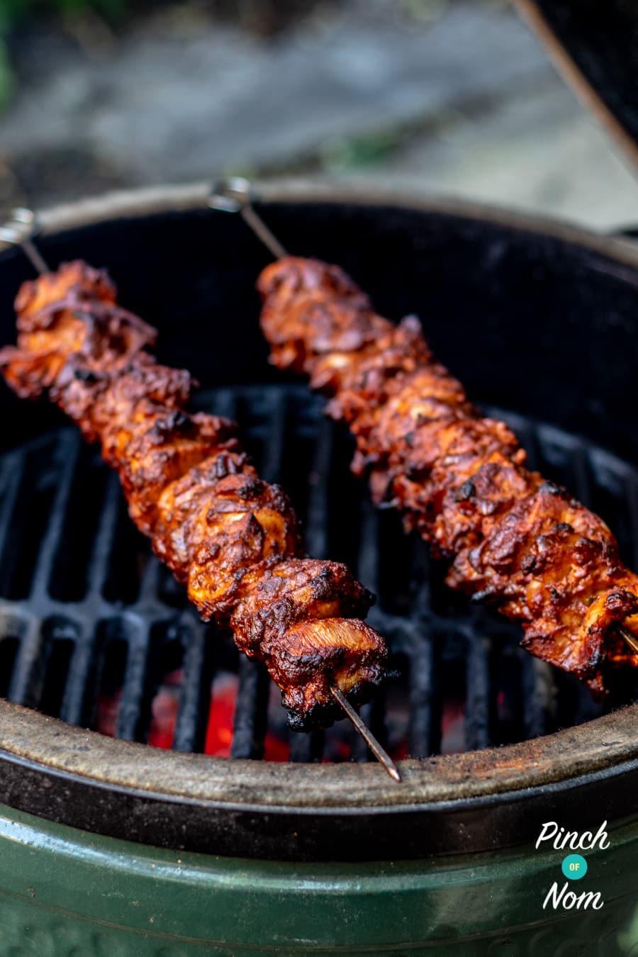 Chicken Teriyaki Kebabs | Slimming & Weight Watchers Friendly