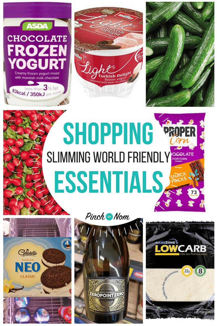 New Slimming World Shopping Essentials 13 Pinch Of Nom