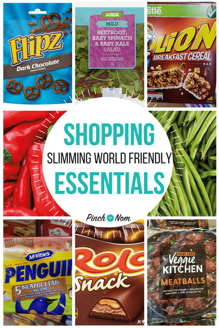 Slimming World Shopping Essentials first image 20.7.18
